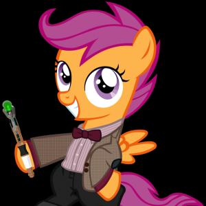 10th Doctor Vector: Equestria Girls Doctor Who Meta Crisis Doctor