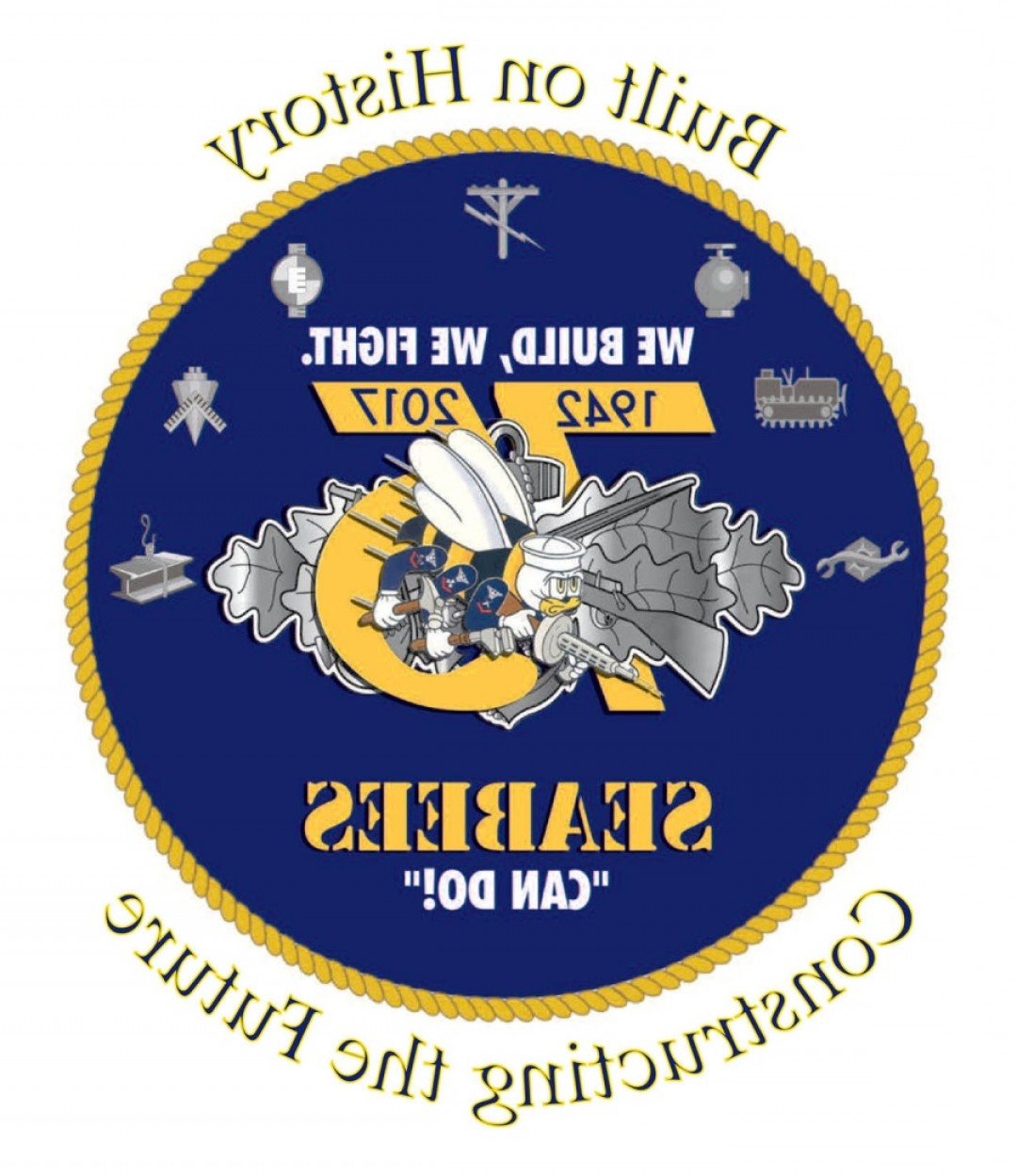 U S. Navy Logo Vector: Seabees Get Updated Logo Theme For Th Anniversary