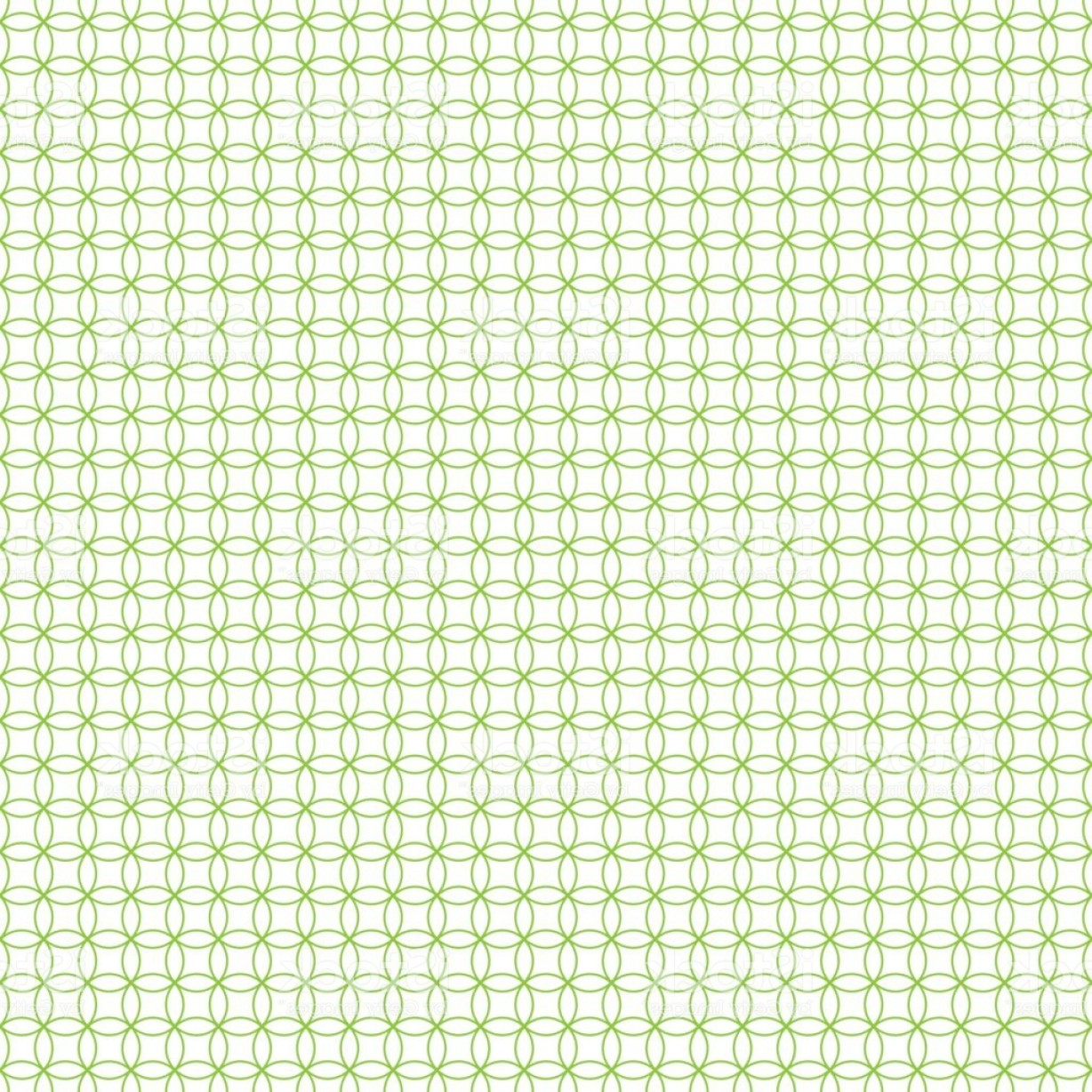 Security Vector Patterns: Seamless Cross Pattern In Green Color Made Of Circles Inspired Of Banknote Money Gm