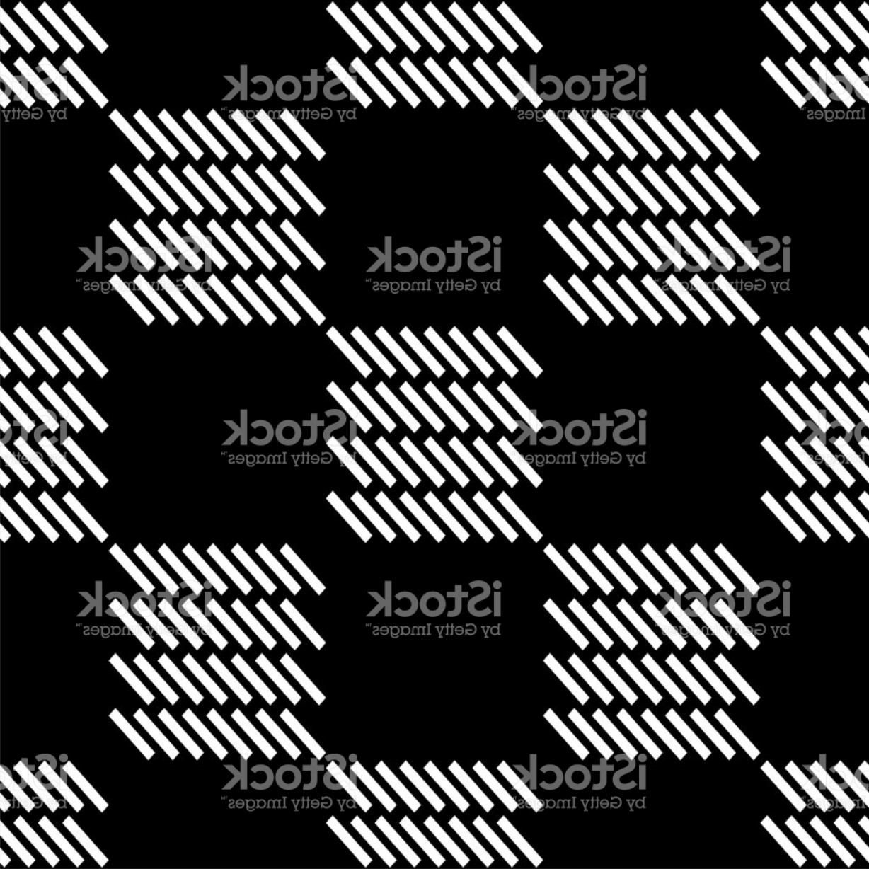Rapport Vector: Seamless Geometric Pattern The Texture Of The Strips Textile Rapport Gm