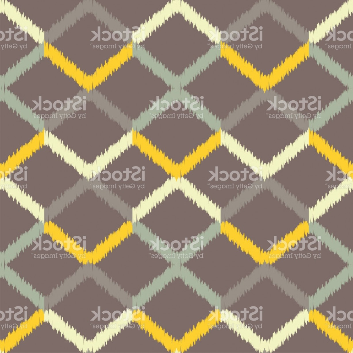 Rapport Vector: Seamless Geometric Pattern The Texture Of The Zigzag Textile Rapport Gm