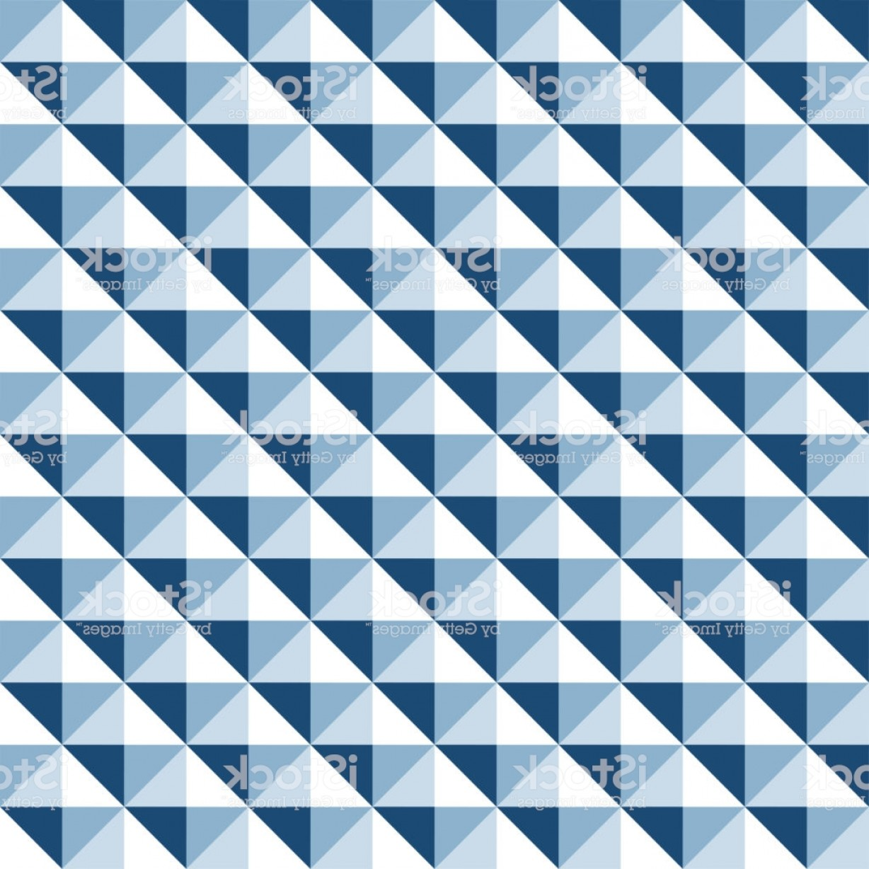 Pyramid Stud Vector: Seamless Geometric Stud Pattern Background In Tones Of Blue Gm