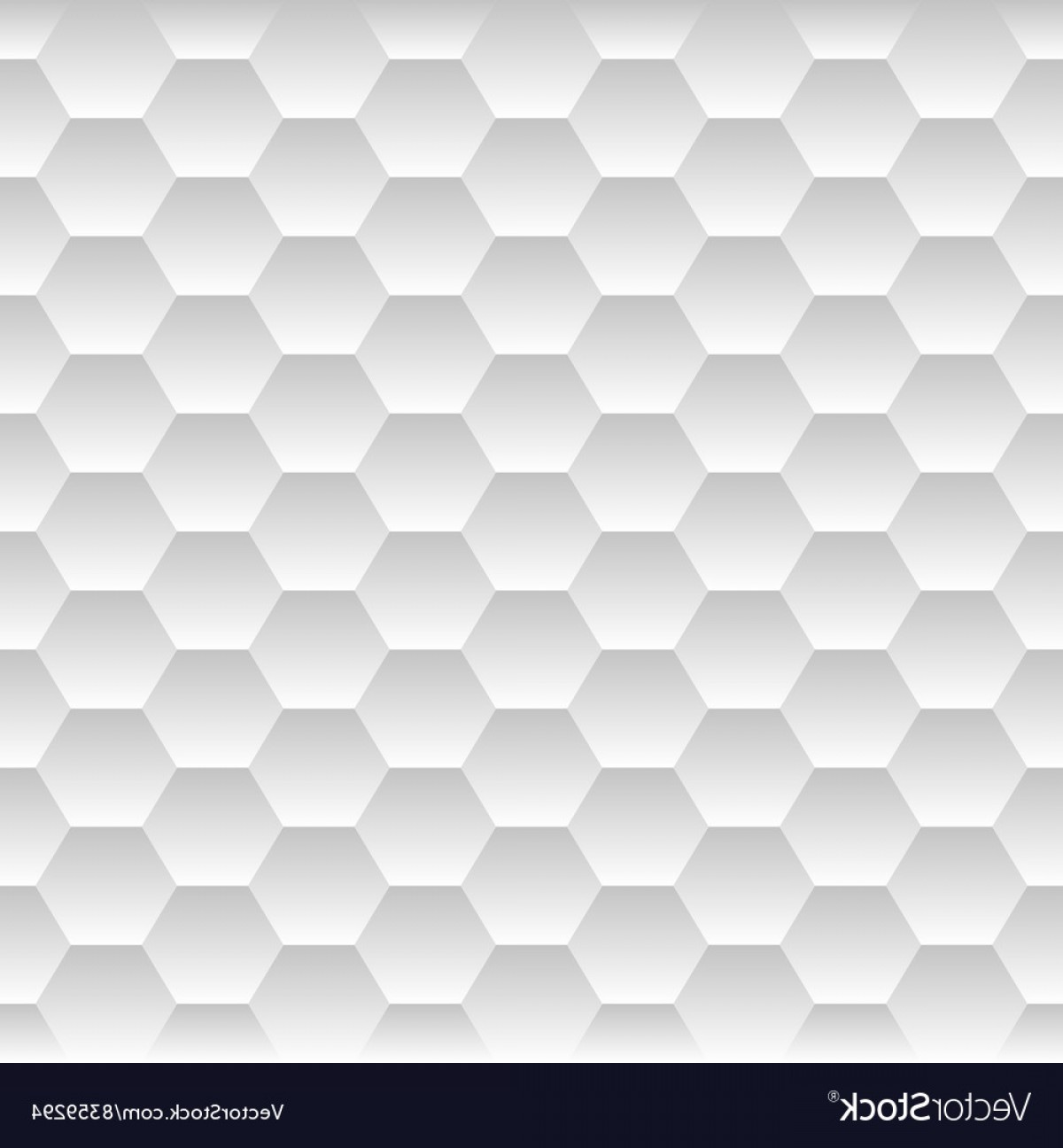 Honeycomb Background Pattern Vector: Seamless Honeycomb Hexagon Background Pattern Vector