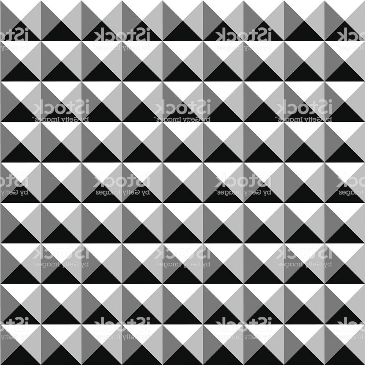 Pyramid Stud Vector: Seamless Square Stud Pattern Background Gm