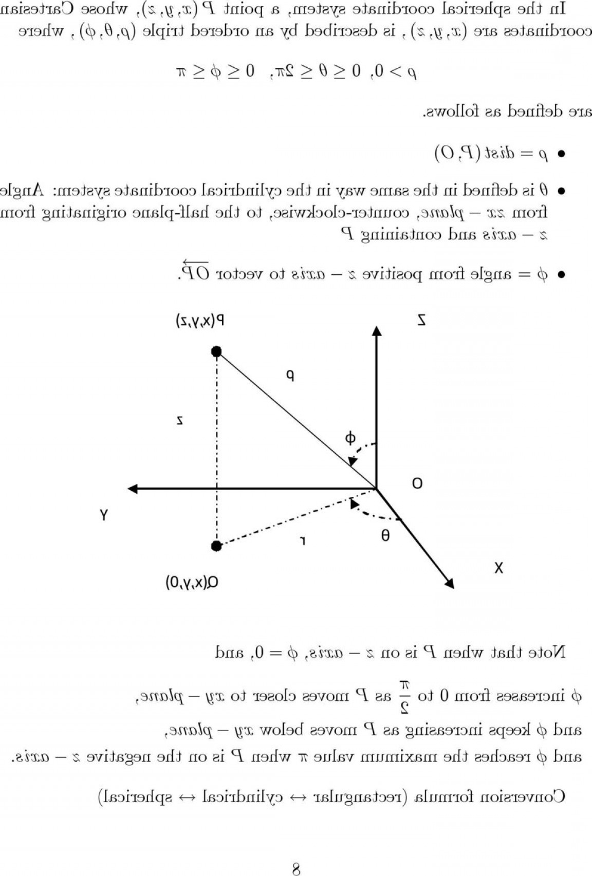Unit Vectors Cylindrical Coordinate System: Section Cylindrical And Spherical Coordinates A Review On The Polar Coordinates