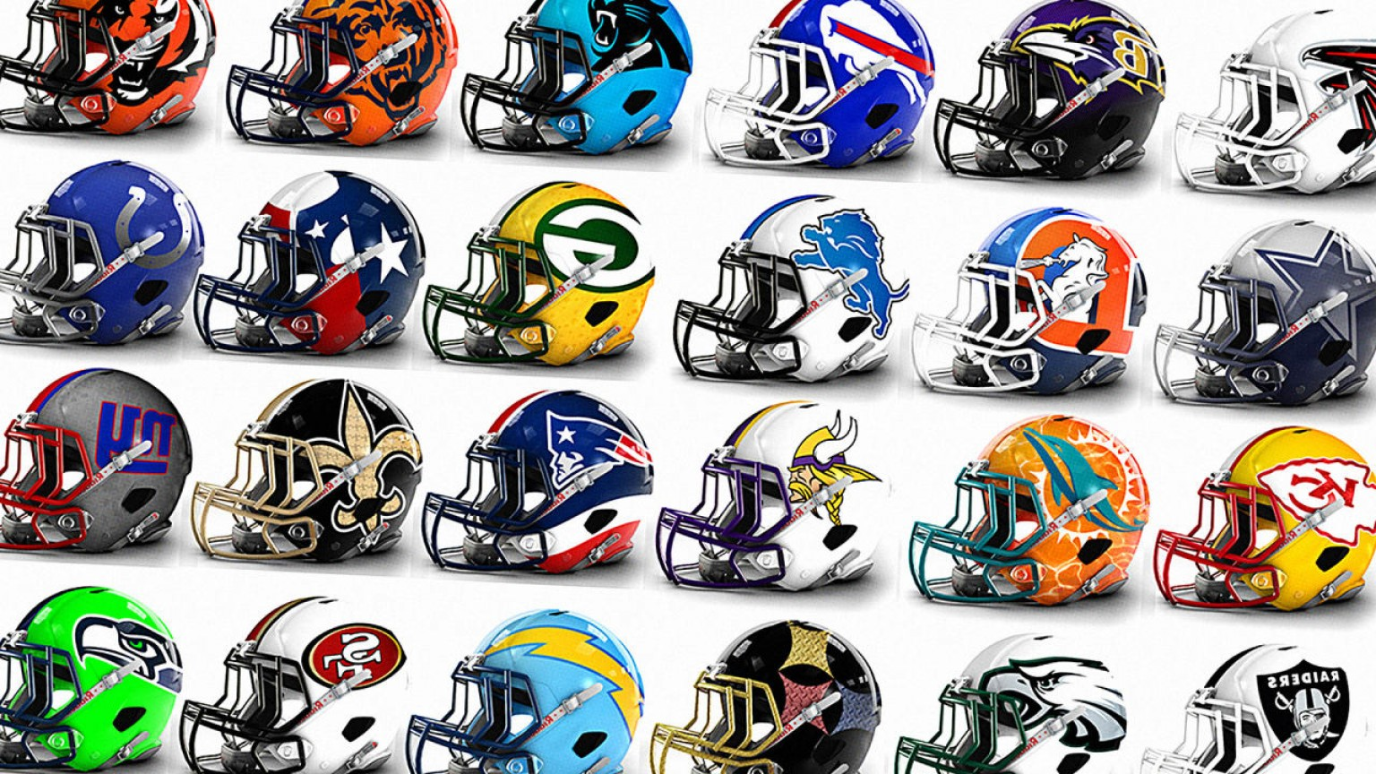 Seahawks Helmet Vector: See Eye Popping Alternate Helmet Designs For All Nfl Teams