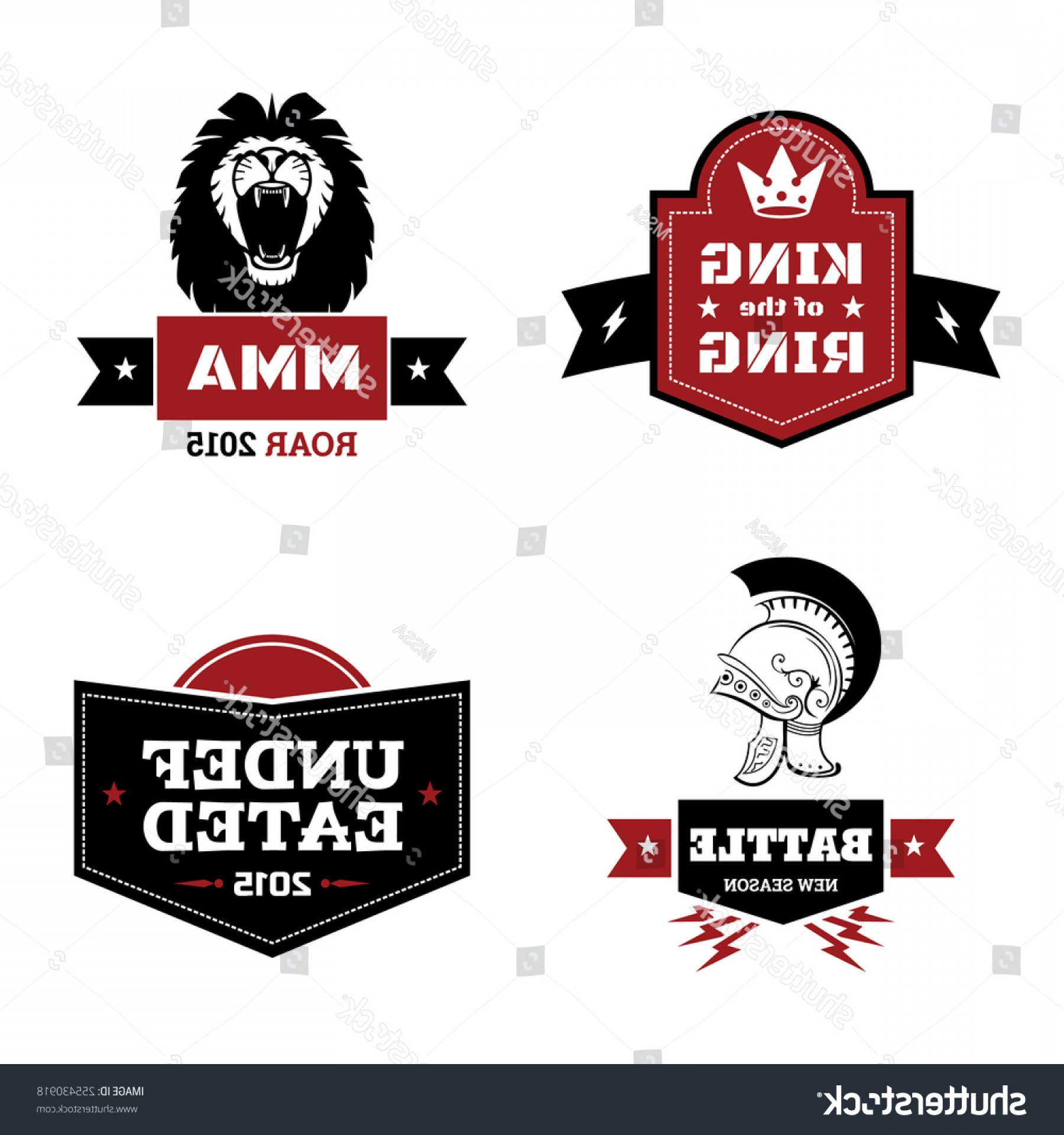 Victory Motorcycles Logo Vector: Set Martial Arts Logo Mma Mix