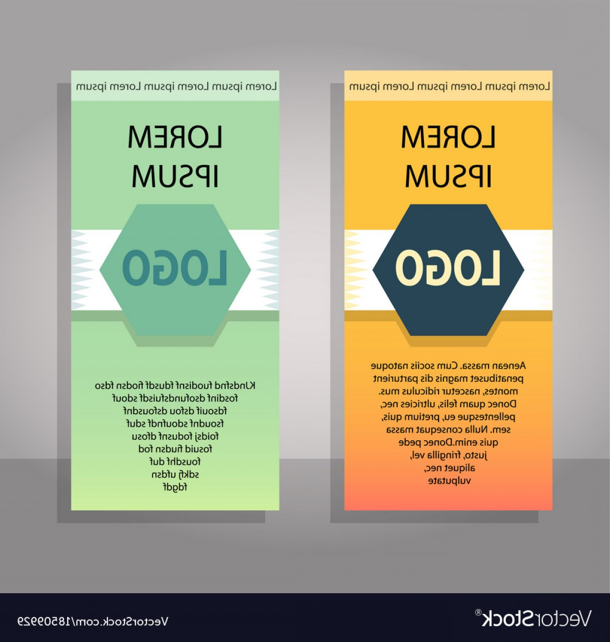 Vector Brochure Cover Designs: Set Of Brochure Cover Design Layout With Circle Vector