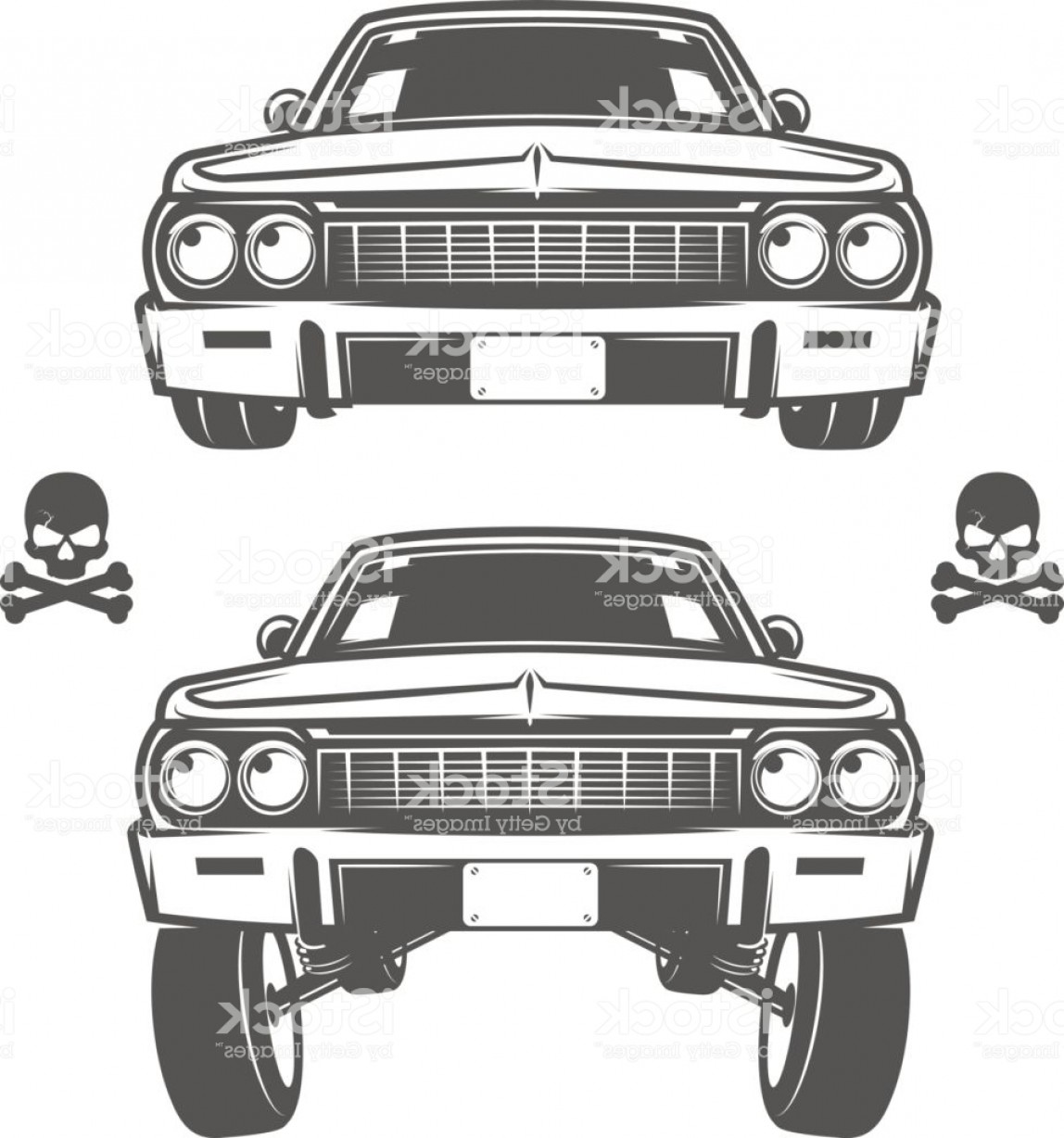 Lowrider Vector: Set Of Lowrider Cars Lowrider Lowrider Machine Lowrider For Emblems And Design Gm