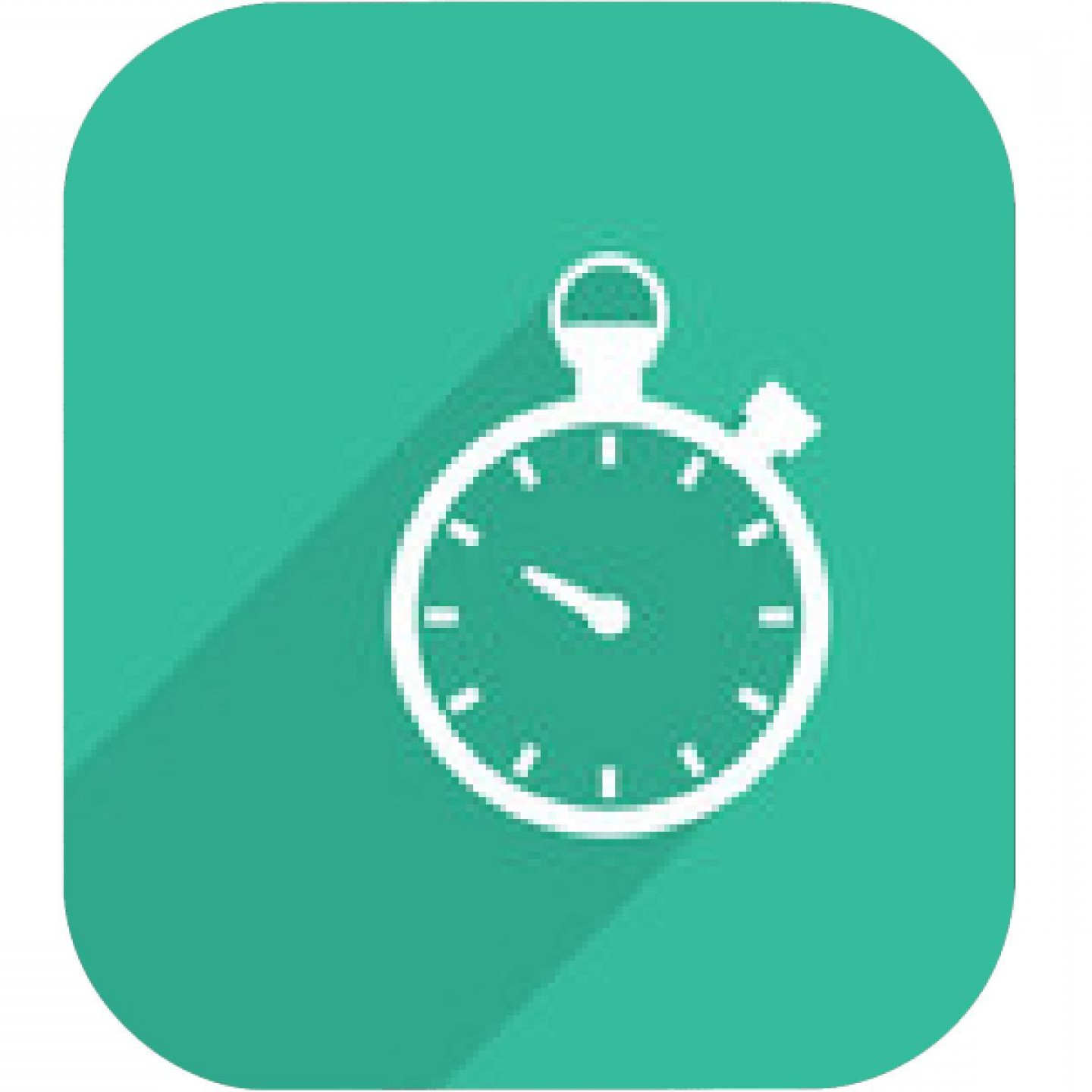 Stop Watch Vector Ai File: Set Of Time Icons Clock Face Without Numbers Vector