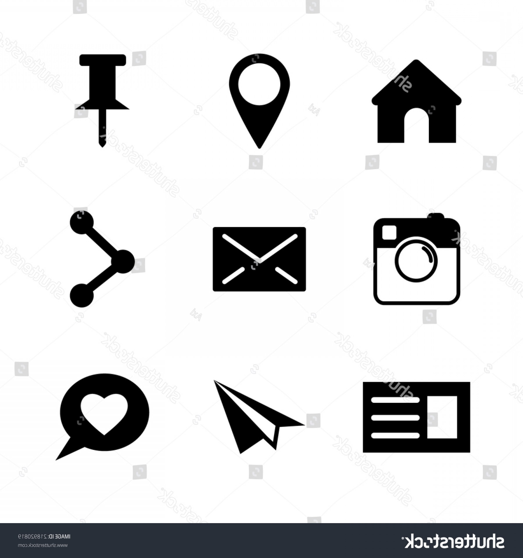 Official Instagram Icon Vector: Set Vector Social Network Icons Isolated