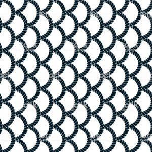 Fishing Net Background Pattern Vector: Seamless Pattern Rope Woven Vector Abstract Illustrative Background Weaving Or Gm