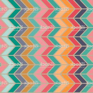 60s Vector: Abstract Vibrant Hippie S Seamless Vector Pattern Wrapping Craft Textile Fabric Print Abstract Vibrant Hippie S Seamless Image
