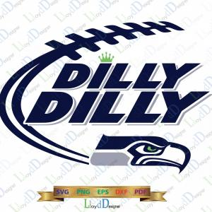 Seahawks Helmet Vector: Seattle Seahawk Svg Dilly Dilly Seattle