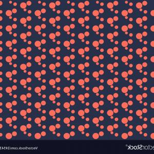 Blue And Orange Circle Vector: Set Of Bright Orange Circles On A Dark Background Vector