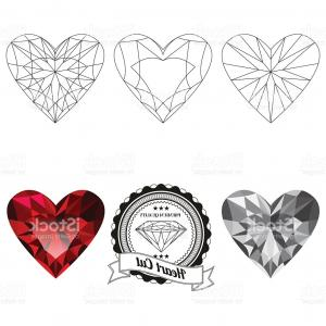 Princess Tiara Vector Heart With A Bottom: Olive Branches Crown And Ribbon On Bottom In Vector