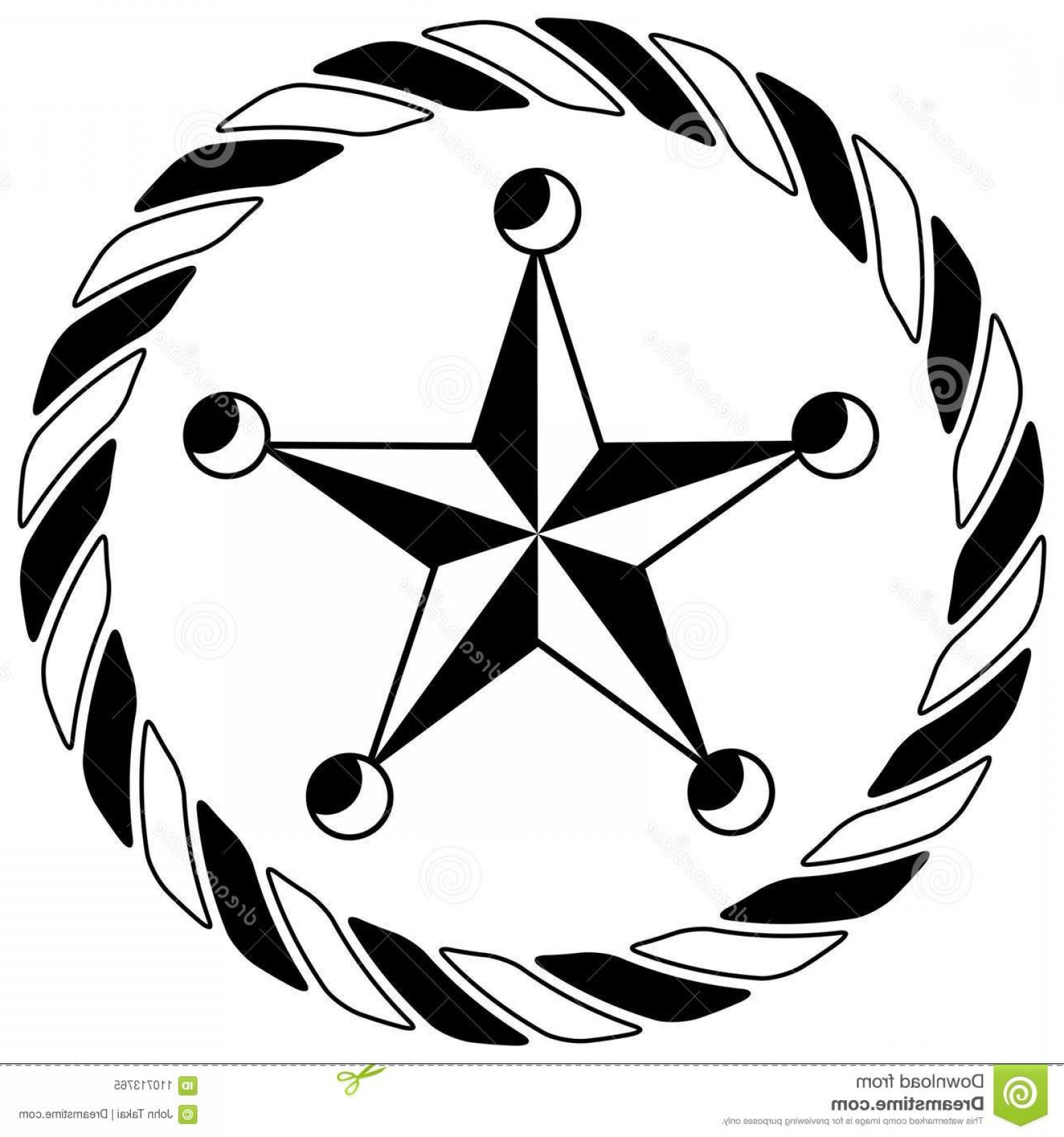 Western Star Vector Graphics: Sheriff Western Star Rope Circle Icon Image Image
