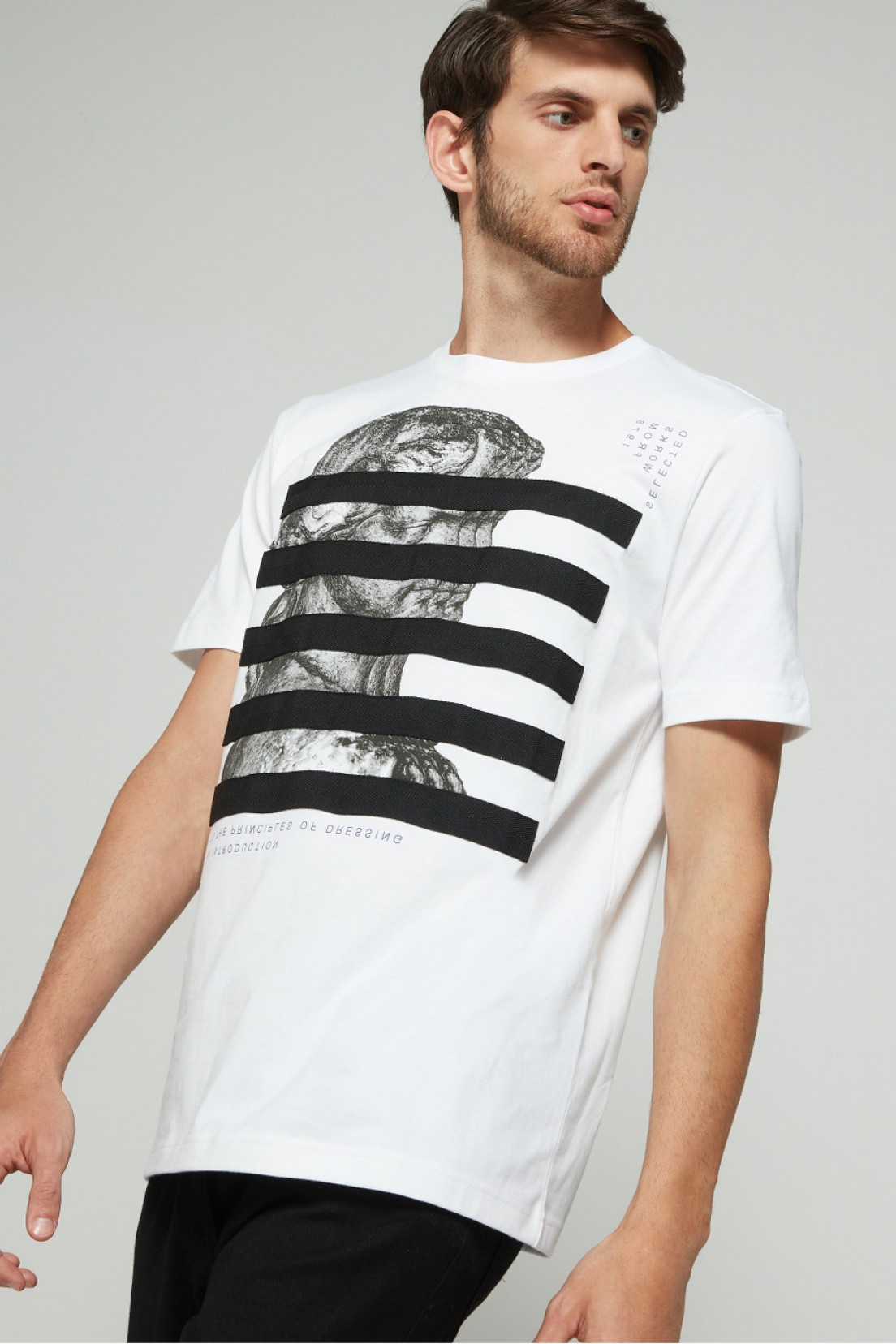 Diesel T-Shirt Vector: Shop T Just Yo Jersey Tee For Mens