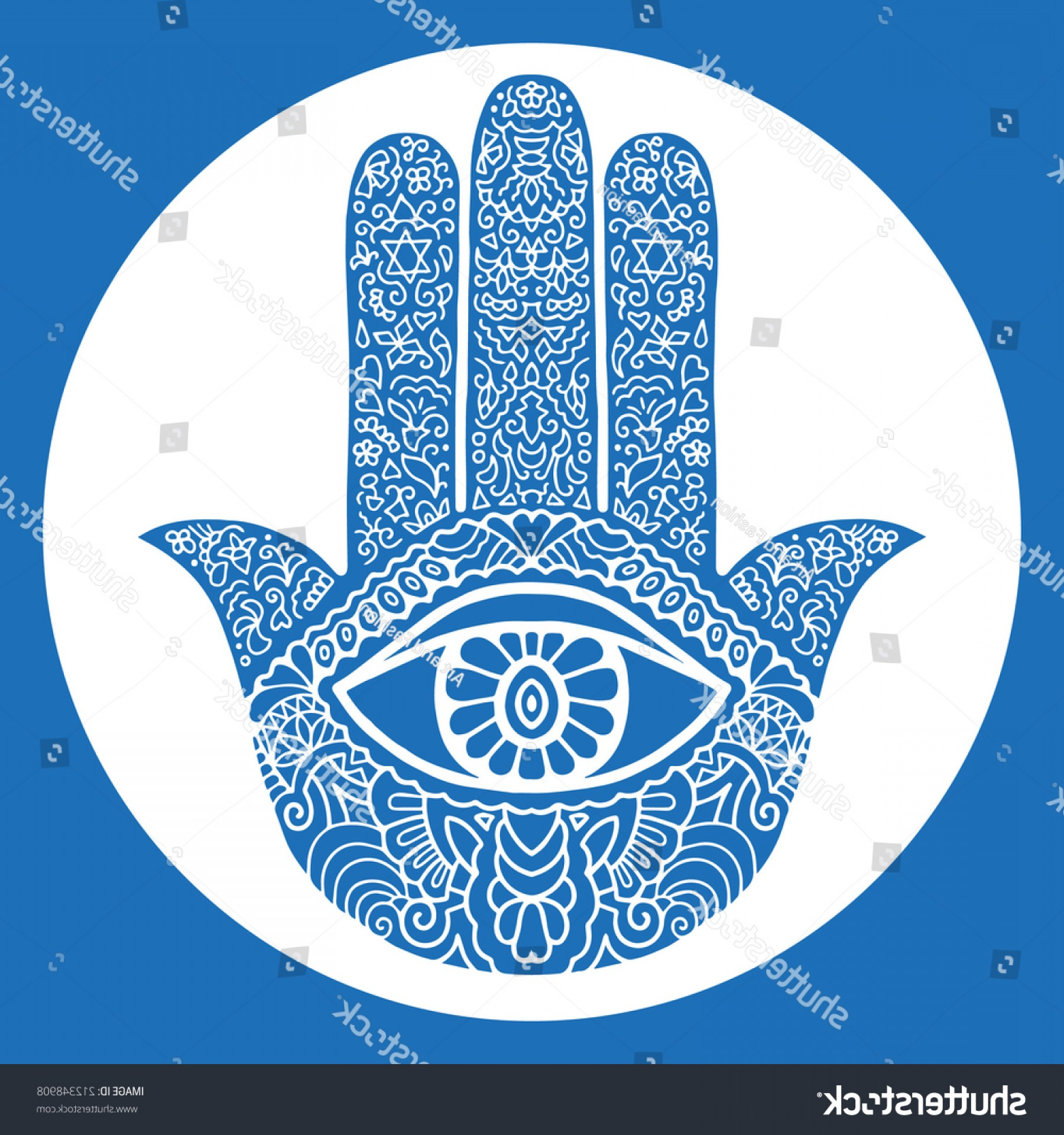 Vector Boho Arrow Strength: Shutterstock Hand Drawn Boho Hamsa Hands Protection