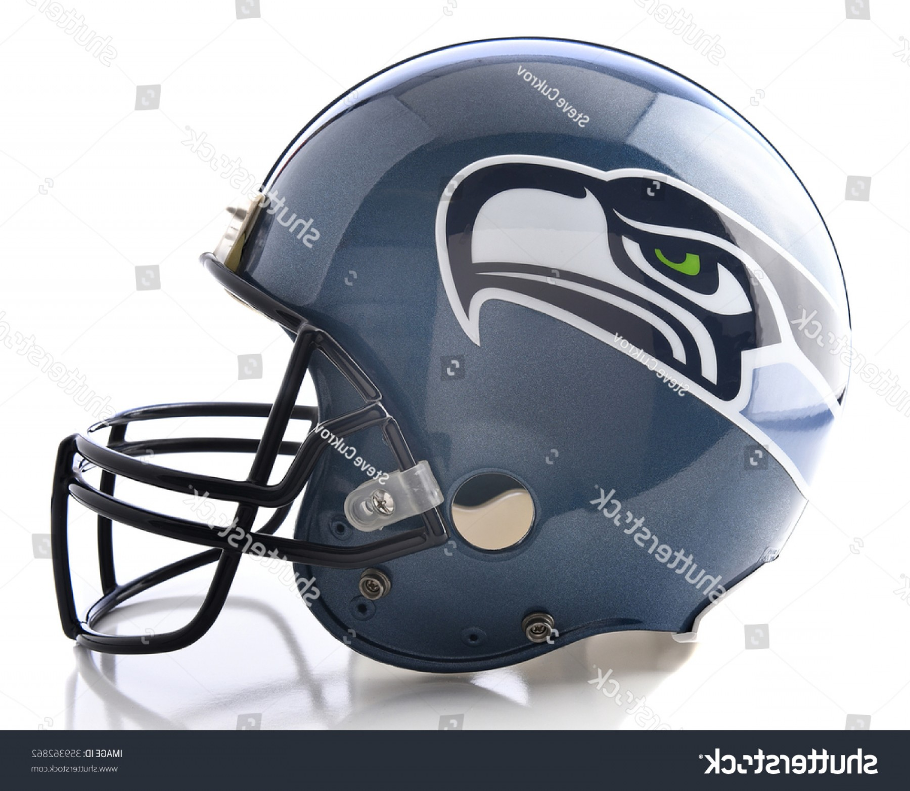 Seahawks Helmet Vector: Shutterstock Irvine Ca January Seattle