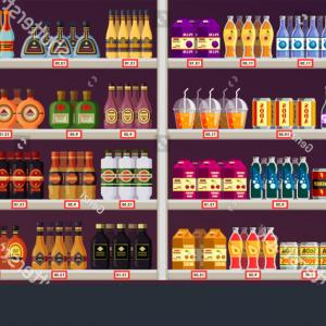 Kroger Logo Vector 2016: Showcase Stall Drinks Alcohol Shop