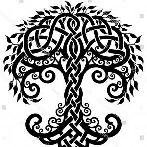 Celtic Tree Vector: Shutterstock Vector Ornament Decorative Black And