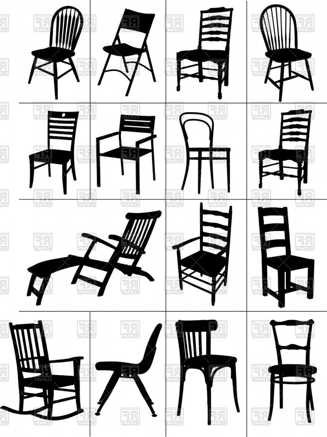 Rocking Chair Silhouette. Plain Silhouette Rocking Chair Silhouette Chair  Silhouette Vector Silhouettes Of Home Chairs
