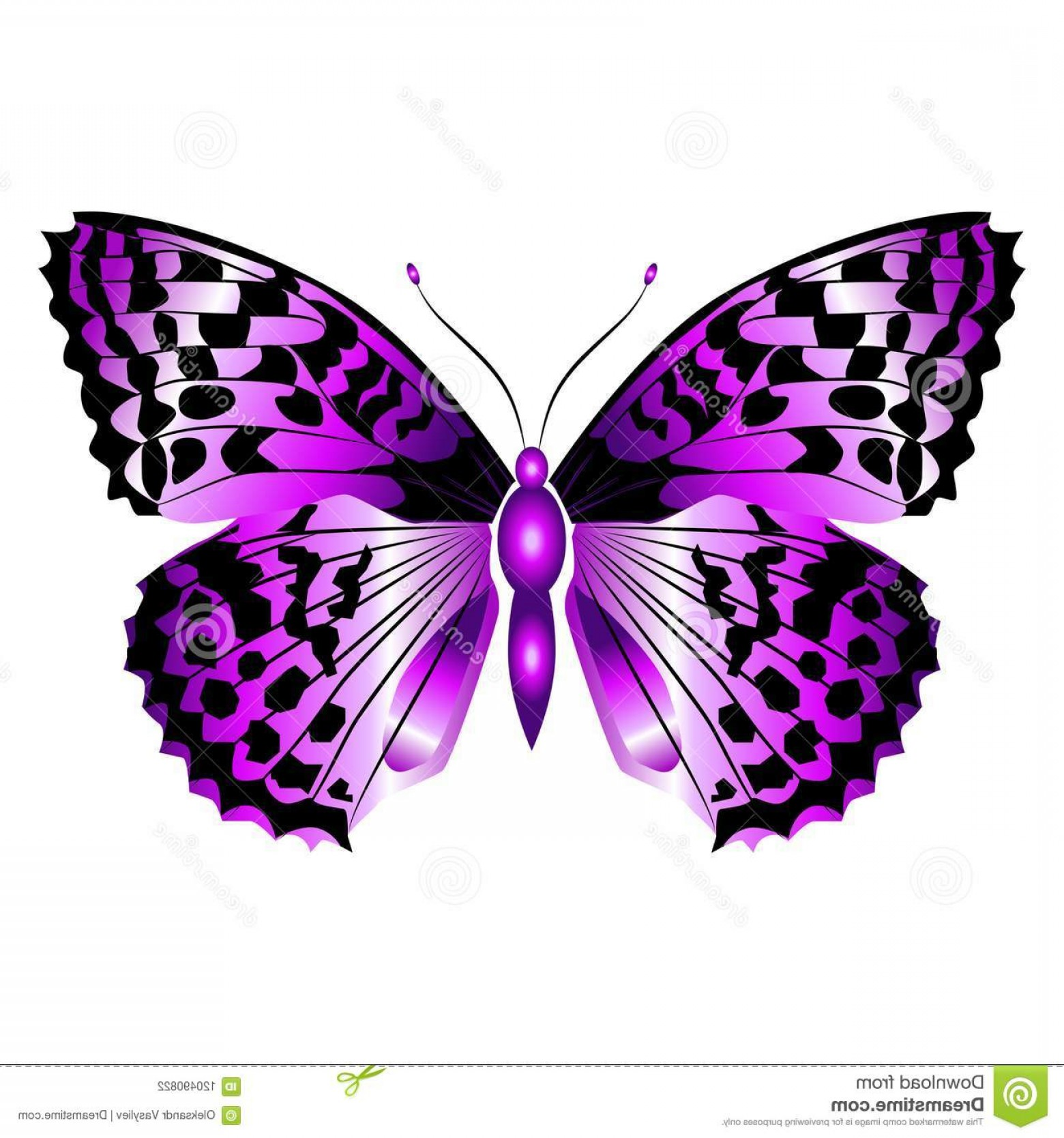 Purple Butterfly Wallpaper Vector: Simple Purple Butterfly Tattoo Of The Day