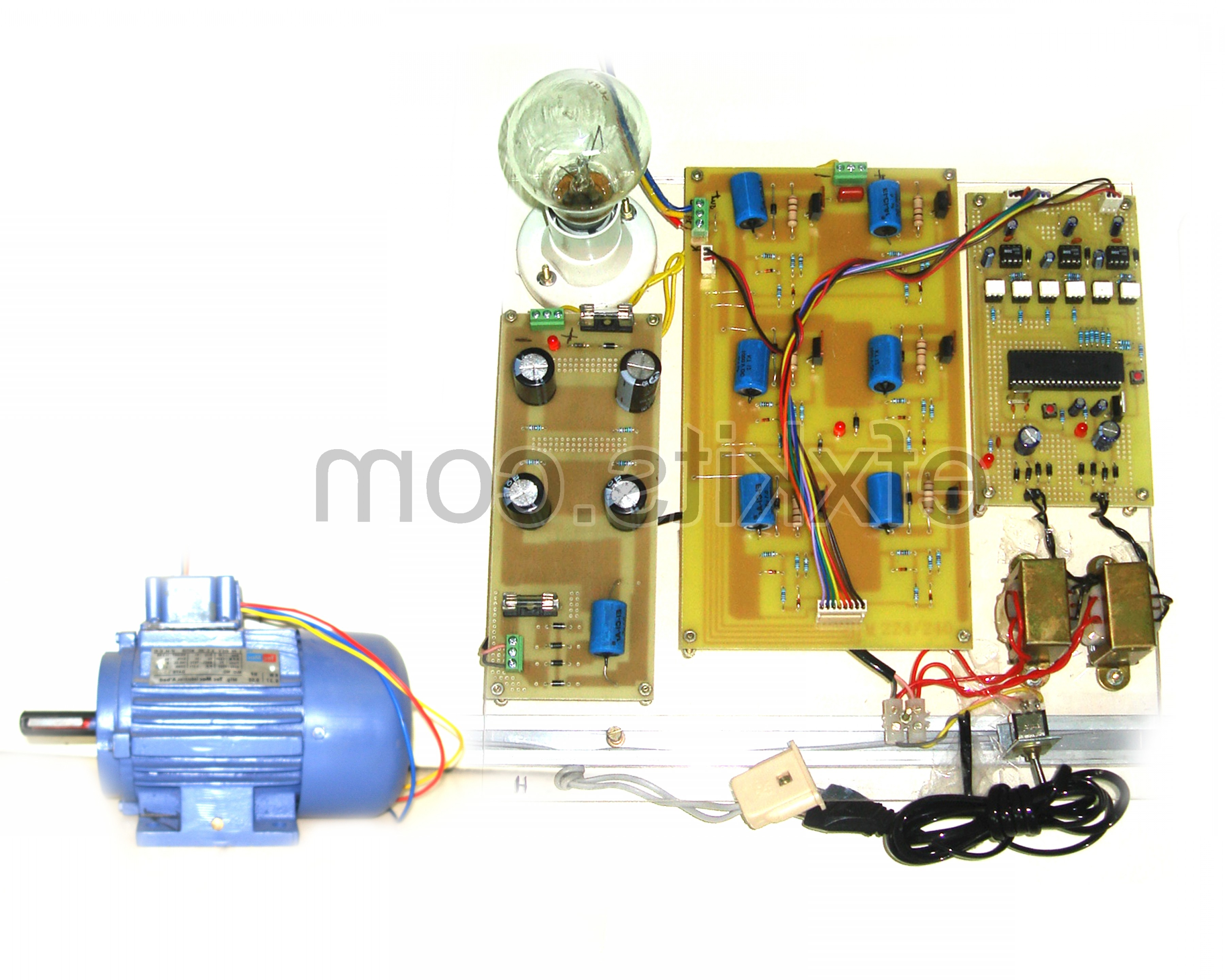 Vector 12V Inverter: Single Phase To Three Phase Converter Using Svpwm Space Vector Pulse Width Modulation Technique