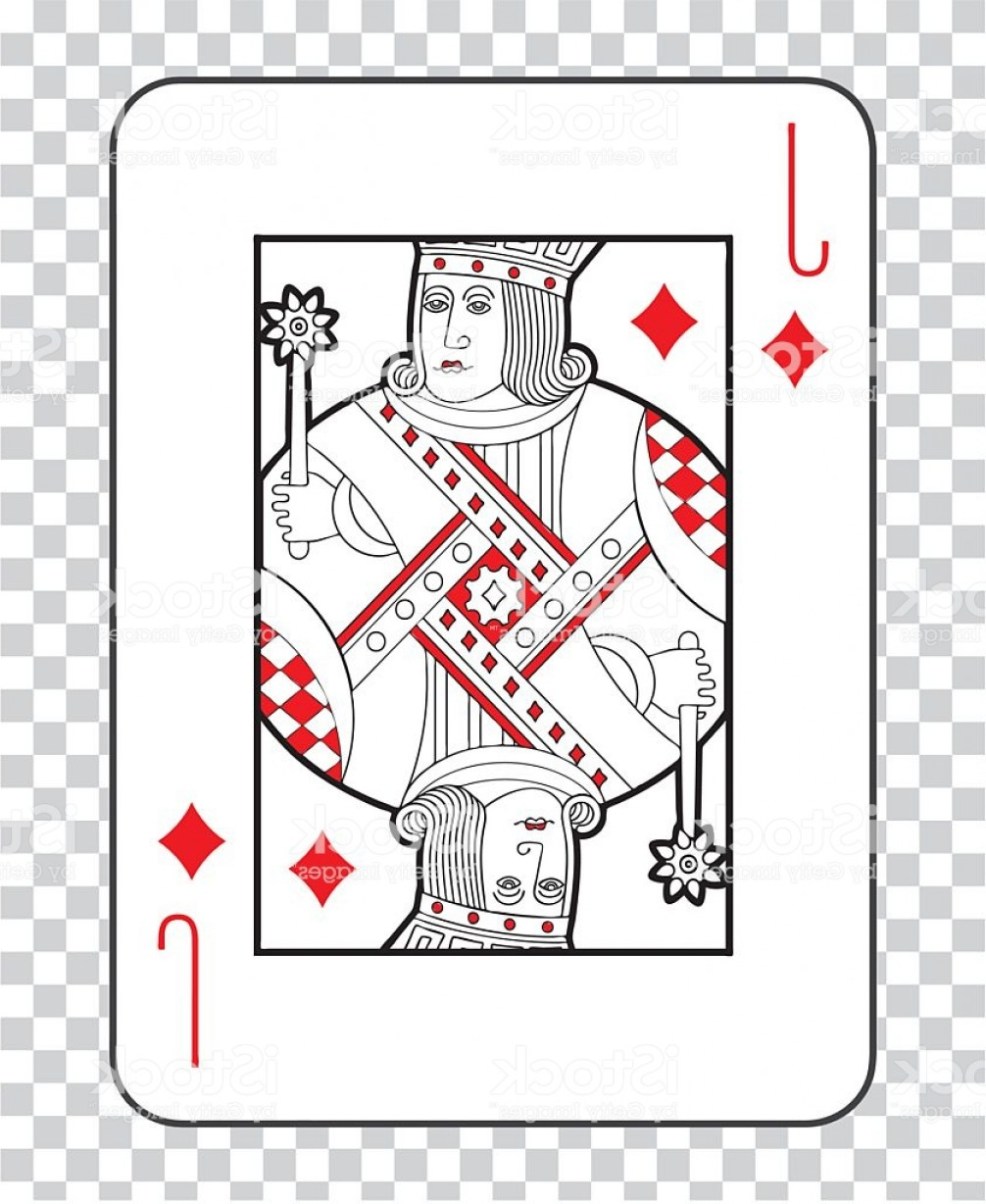 Single Playing Card Vector: Single Playing Cards Vector Jack Diamonds Gm