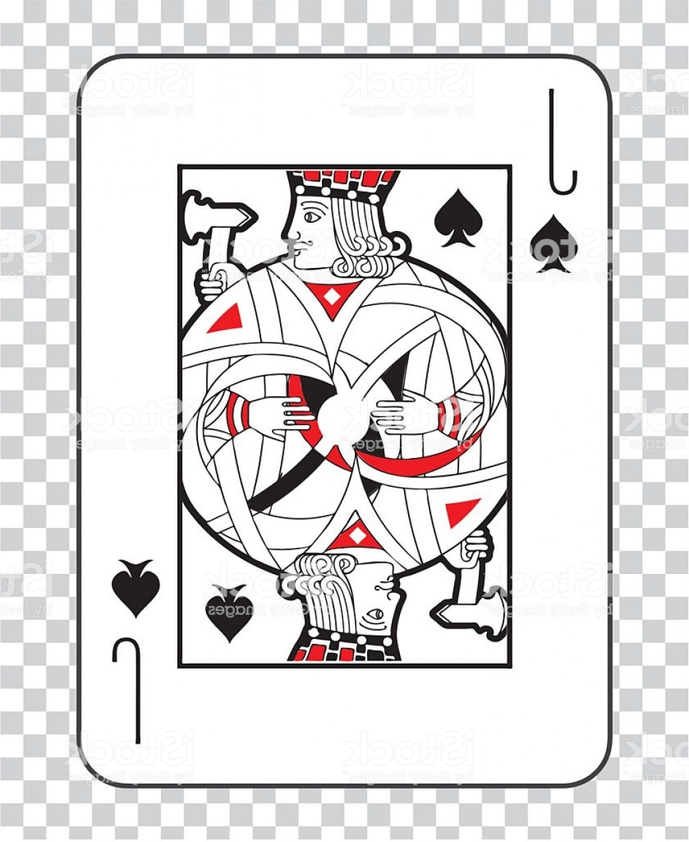 Single Playing Card Vector: Single Playing Cards Vector Jack Spades Gm