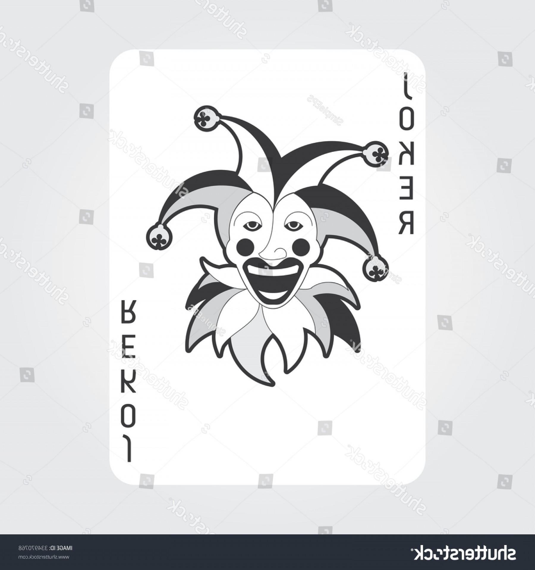 Joker Vector Graphics: Single Playing Cards Vector Joker