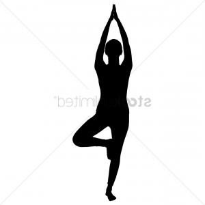 Yoga Vector Silhouette SVG: Aerial Acrobat Svg Silhouette Cut Out