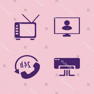Archer TV Vector: Sitting Icon Vector Icons Set Call