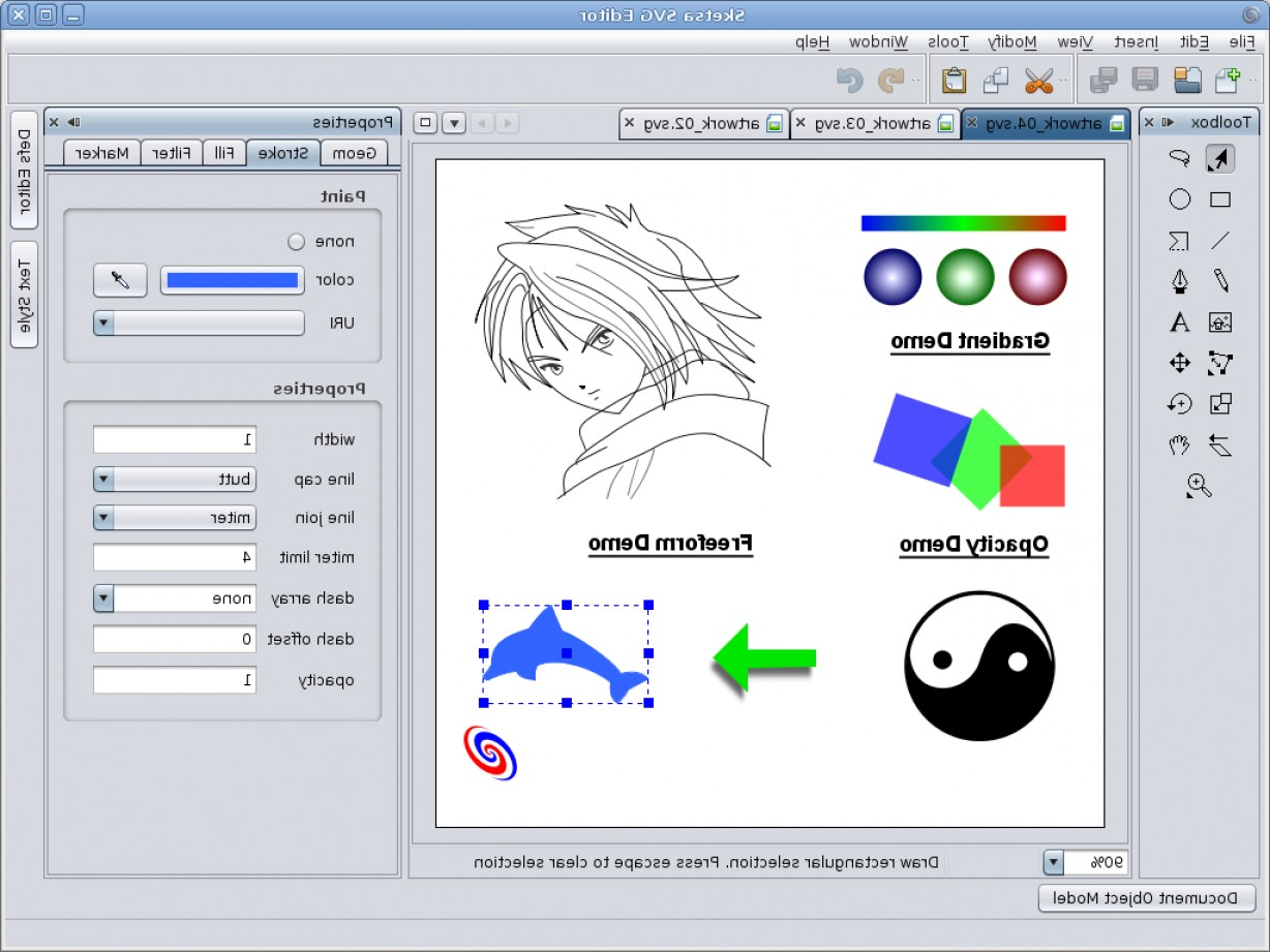 Vector-Based Graphics Software: Sketsa Another Application Based On Netbeans Platform