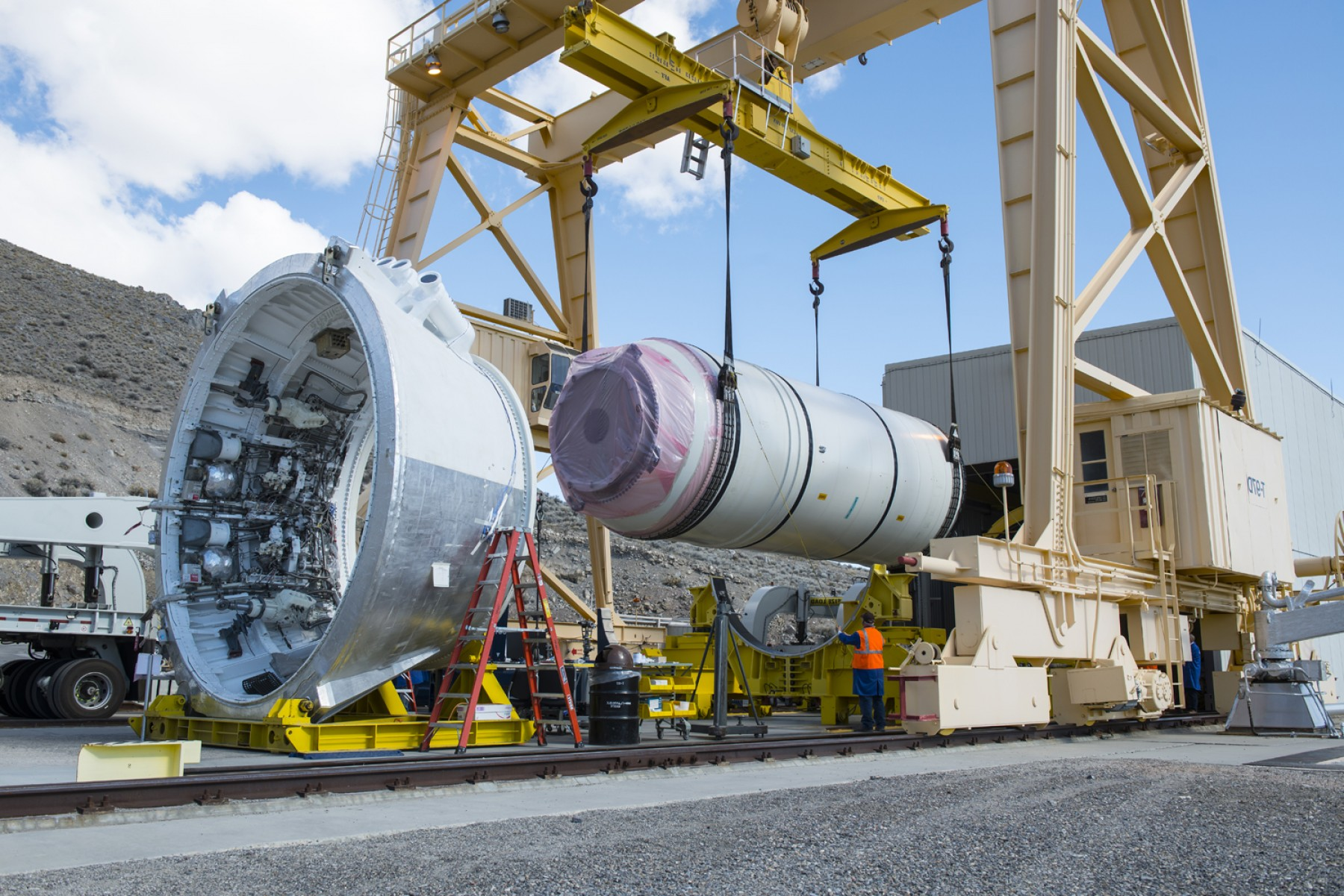 SRB Thrust Vector Control System: Sls Solid Rocket Booster To Be Fired Up For Final Qualification Test