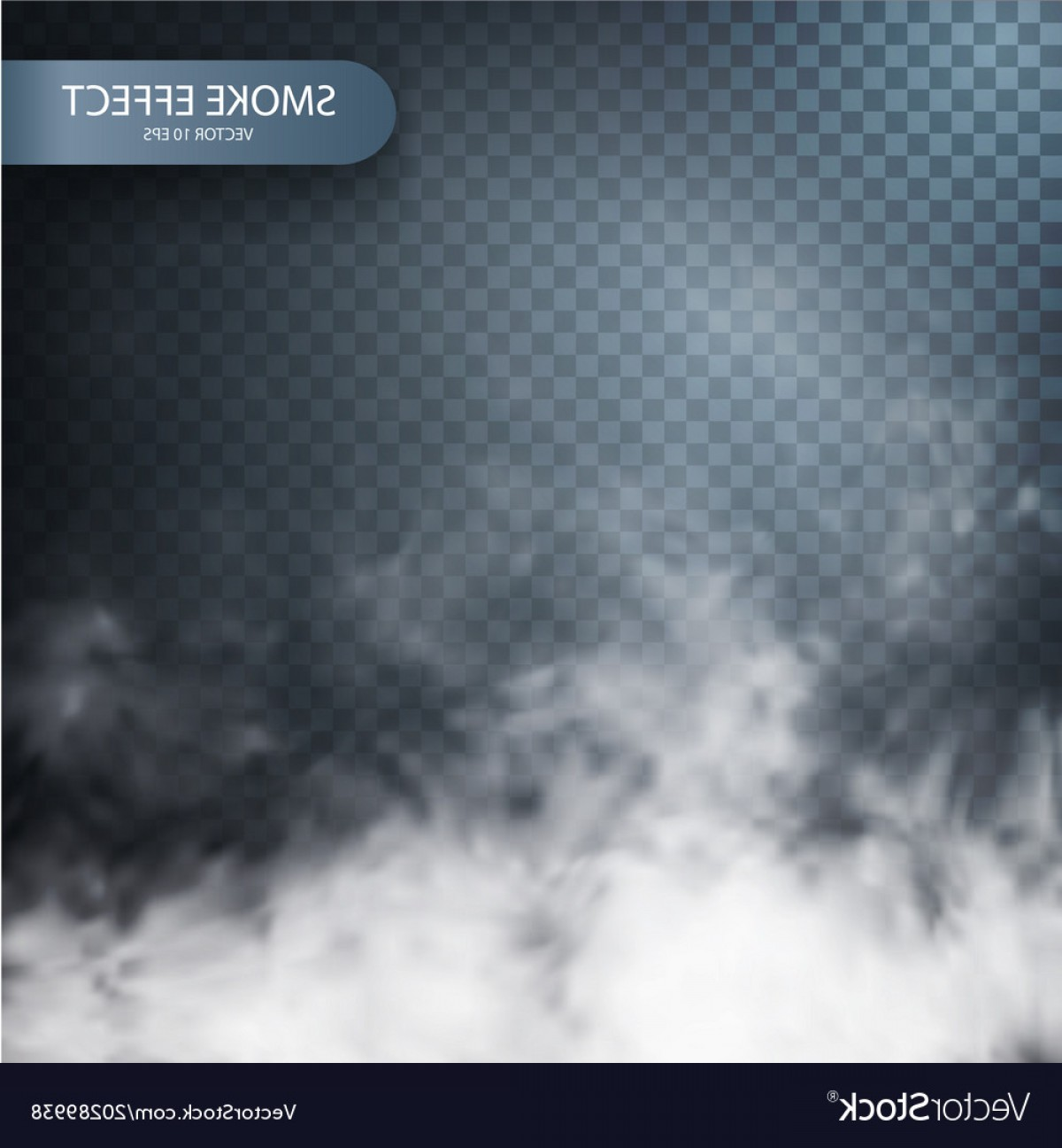 Vector Smoke Effect: Smoke Effect On A Transparent Background Vector