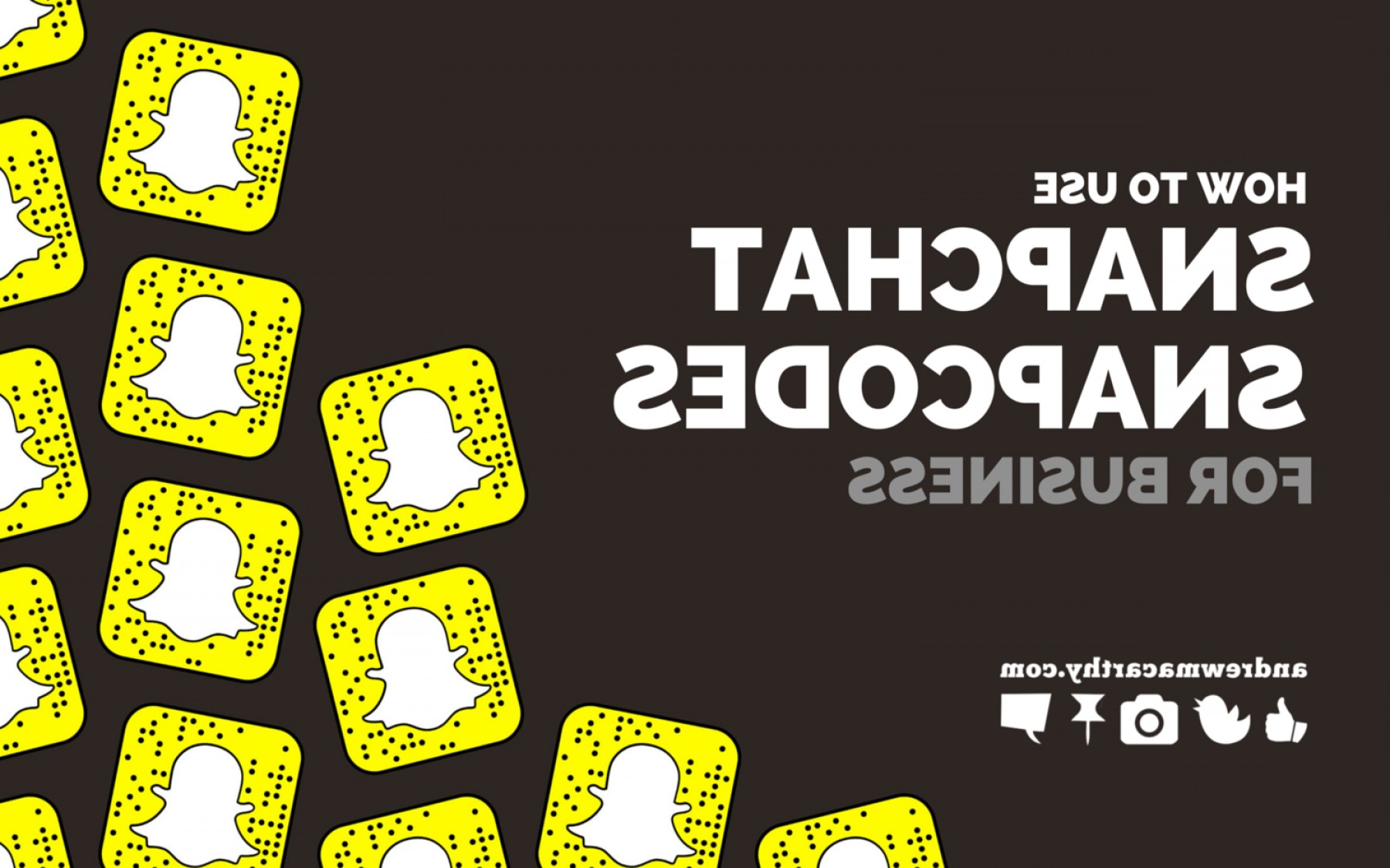 Here's Your Sign Vector: Snapchat Snapcodes For Business Download Image Vector