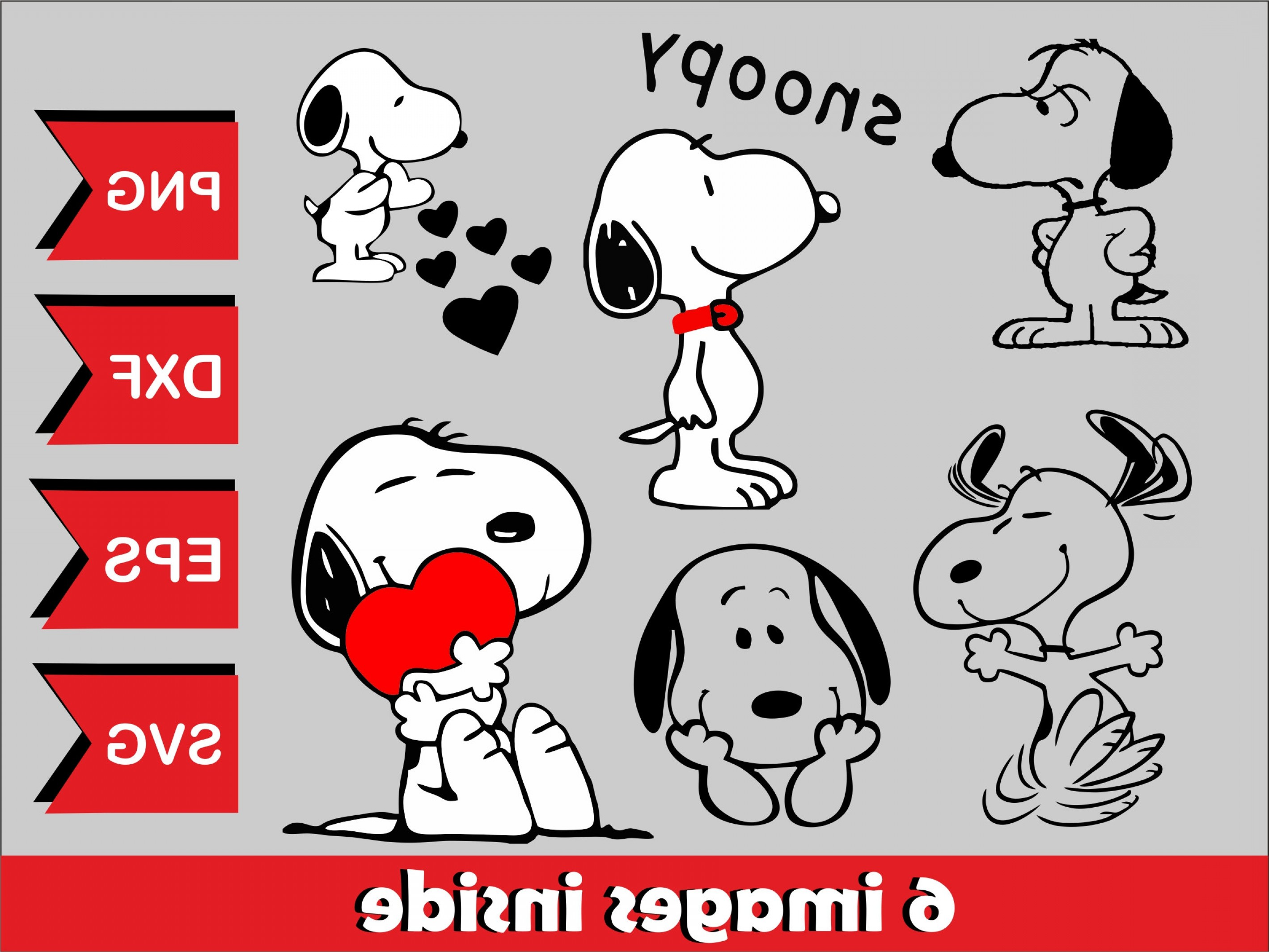 Snoopy Vector Graphic: Snoopy Svg File Snoopy Vector Snoopy