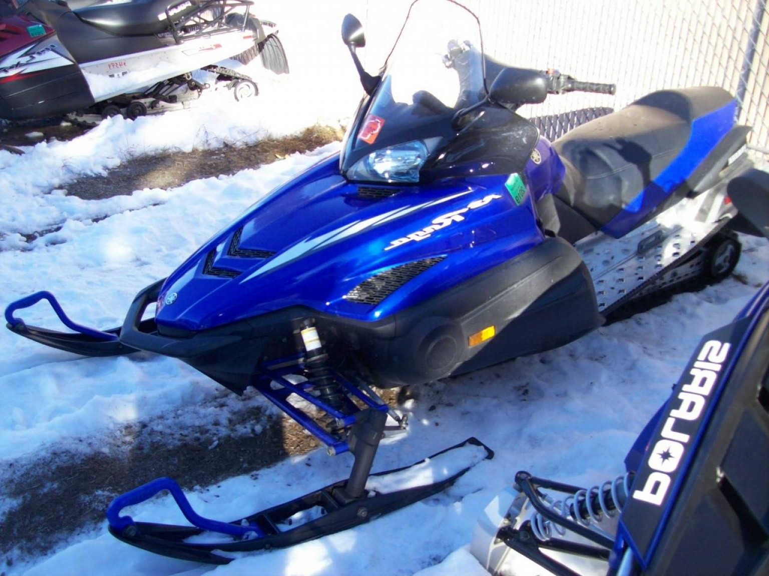Yamaha Vector Tall Windshield: Snowmobiles Yamaha Rs Rage Wisconsin Rapids Wi Aa F Fe Abaf