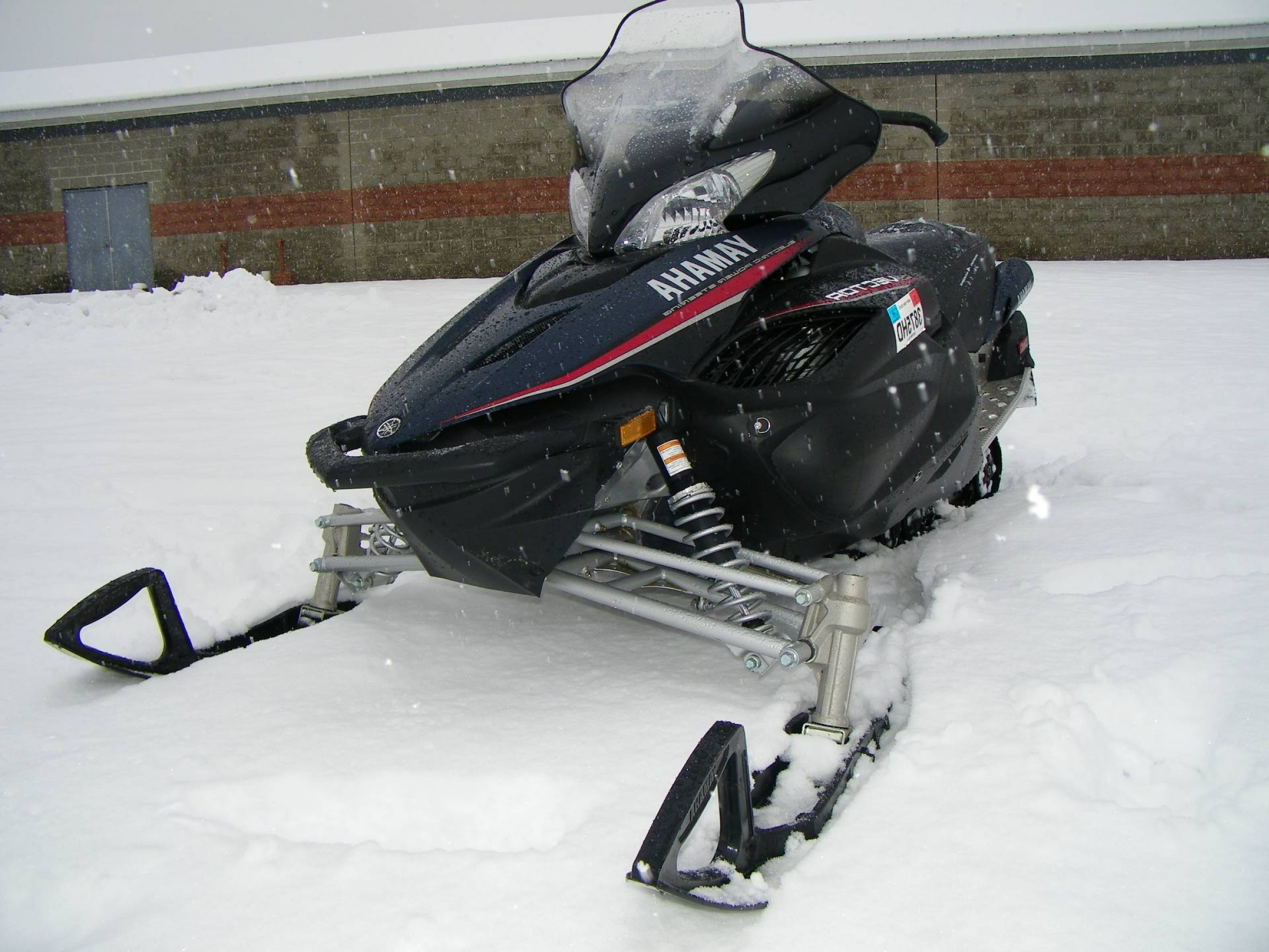 Yamaha Vector Tall Windshield: Snowmobiles Yamaha Rs Vector Galeton Pa B Fb A Afcda