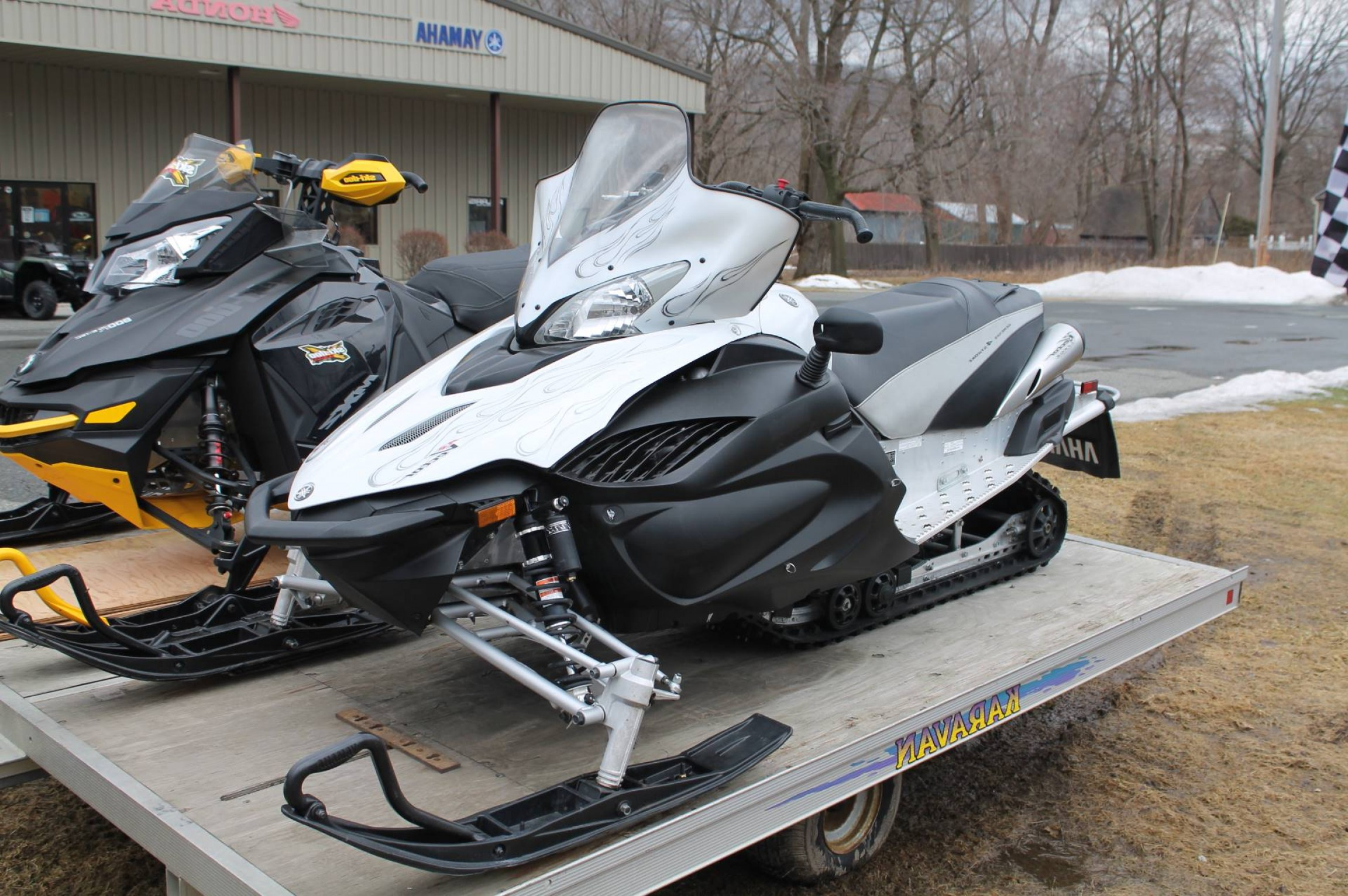 Yamaha Vector Tall Windshield: Snowmobiles Yamaha Rs Vector Gt Adams Ma Aa E Aceac