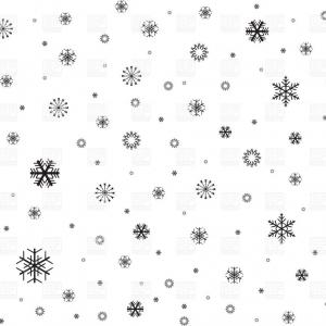 Simple Black Vector Snowflake: Snowflakes Clipart Black And White Vector
