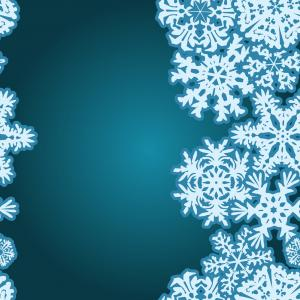 Snow Borders Vectors: Snowflakes Winter Seamless Border Seamless Texture Vector