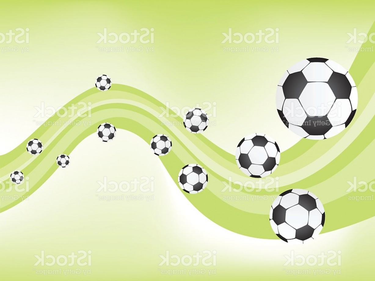 Football Vector Wallpaper: Soccer Football Background Illustration Gm