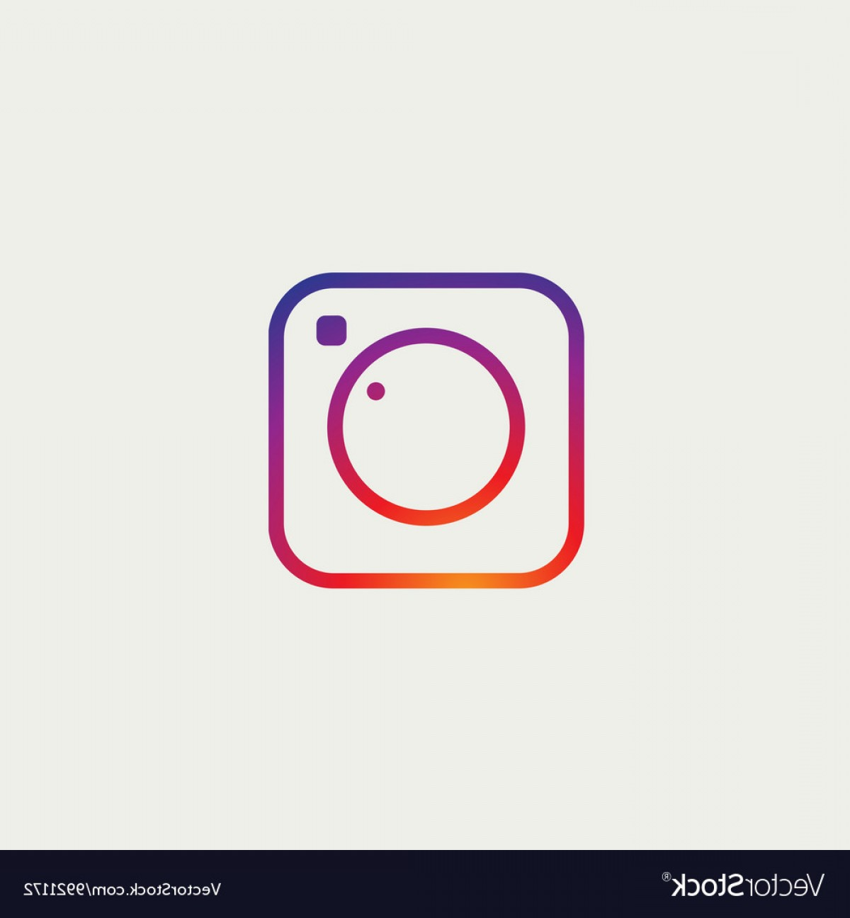 Official Instagram Icon Vector: Social Media Icon Photo Camera Instagram Icons Vector