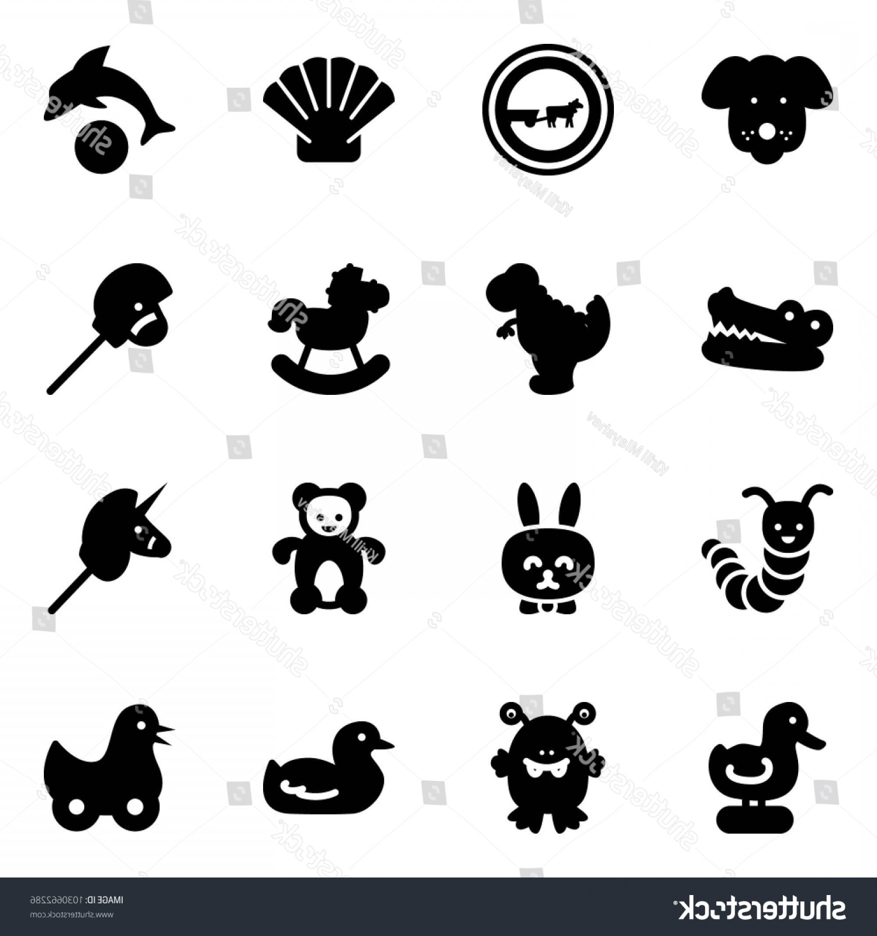 Road Sign Silhouette Vector Bear: Solid Vector Icon Set Dog No