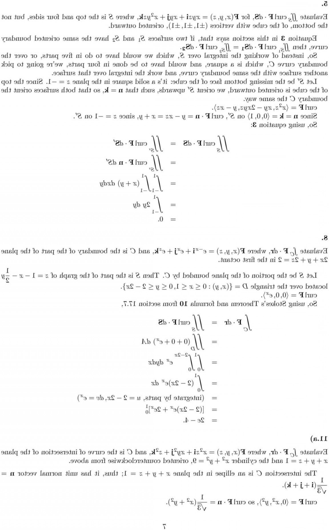 Point Of A Unit Normal Vector A Vector Intersects: Solutions Homework Sections