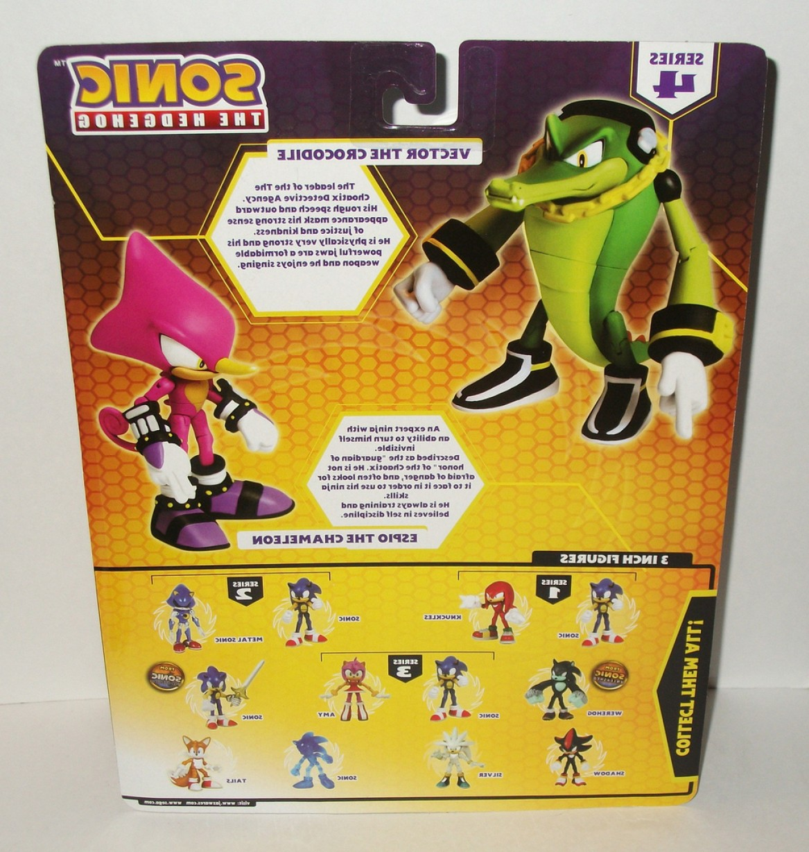 Vector The Crocodile Archie Toys: Sonic The Hedgehog Vector Espio Review