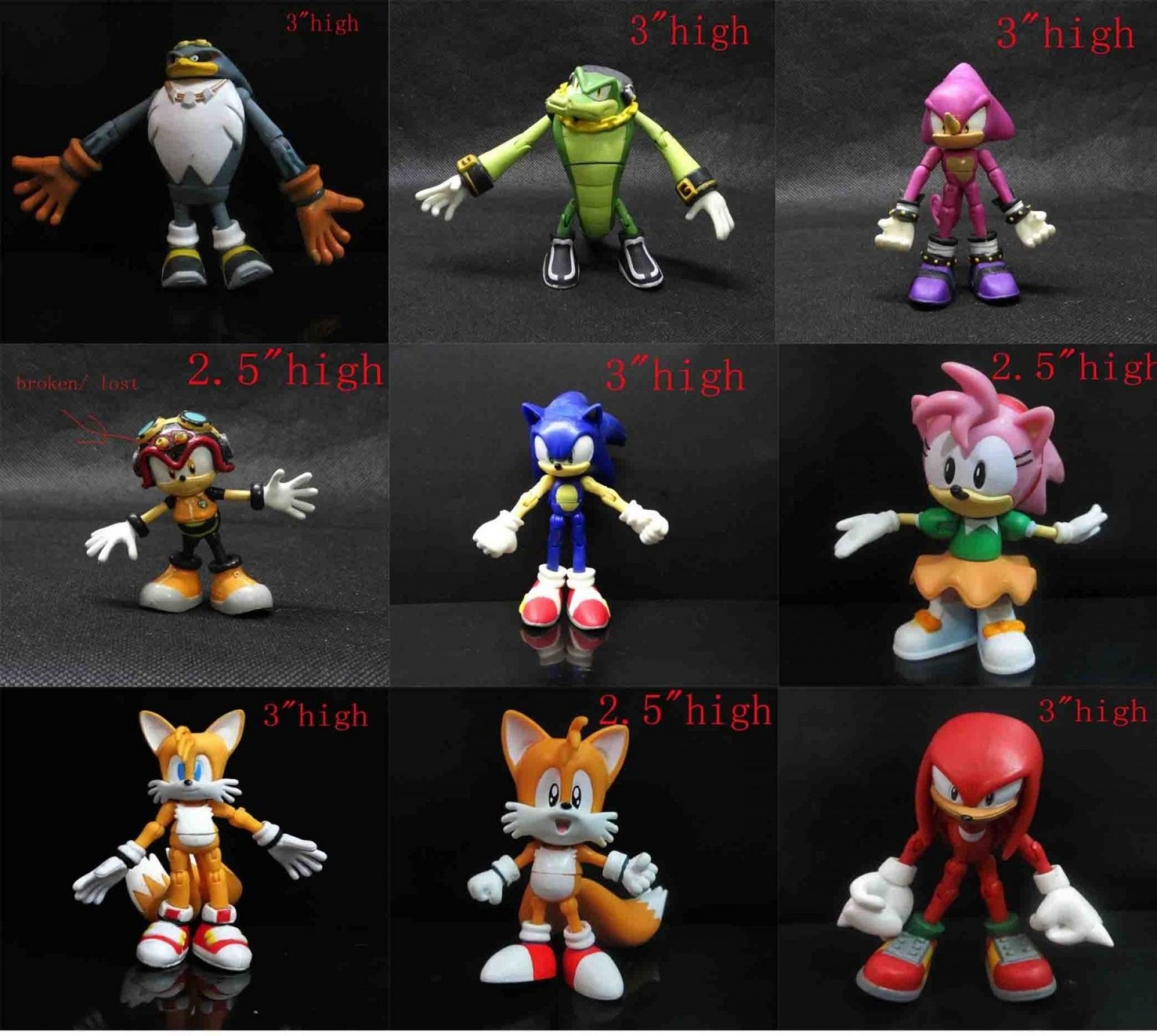Vector And Espio Toy: Sonic The Hedgehog Vector Espio The Chameleon Super
